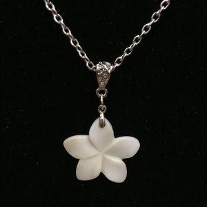 Jewelry - Plumeria Pendant with Chain